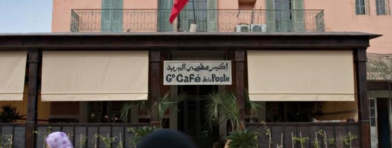 Enseigne Le grand Café de la Poste